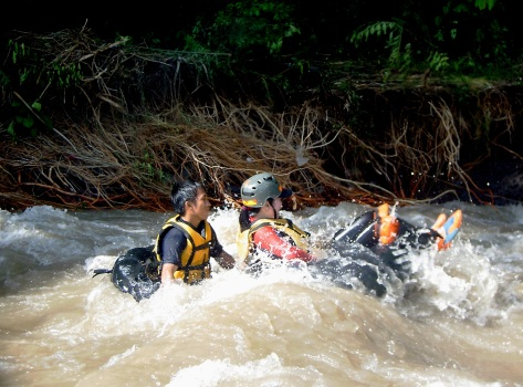 davao white water tubing outdoor adventure